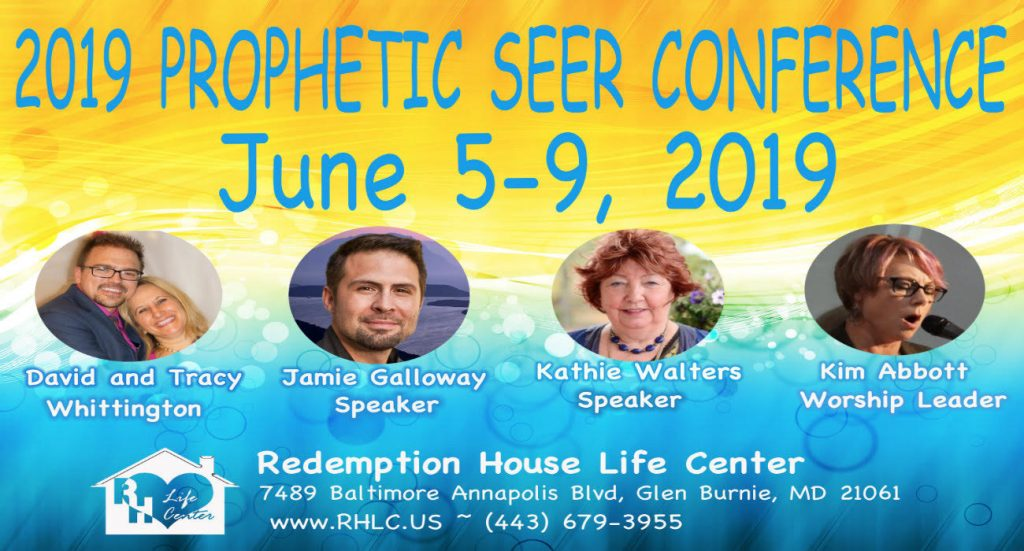 "BALTIMORE, MD - ""Prophetic Seers Conference"" - Kathie Walters, Kim Abbott, Jamie Galloway, David & Tracy Whittington"